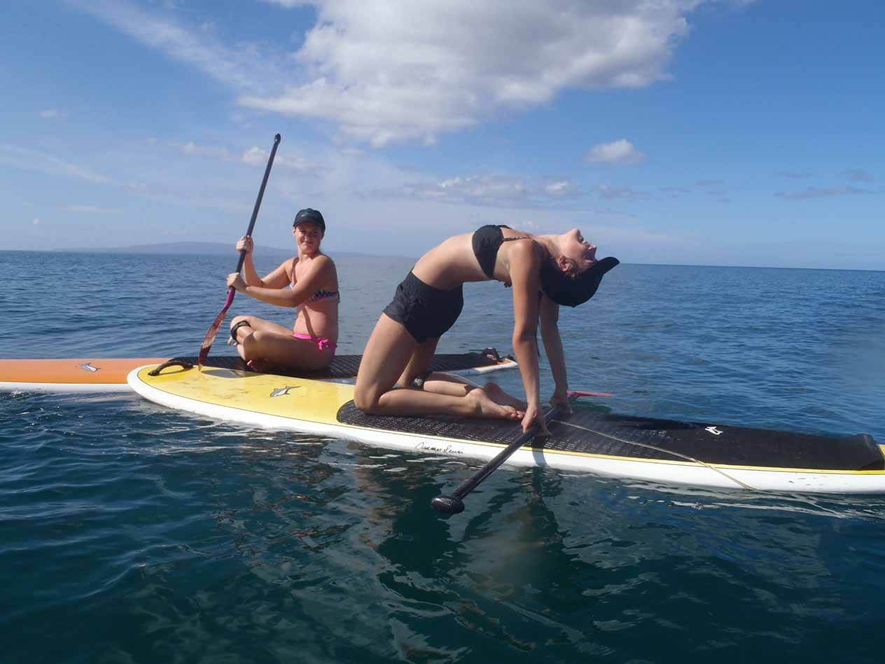 Maui SUP Yoga Lesson