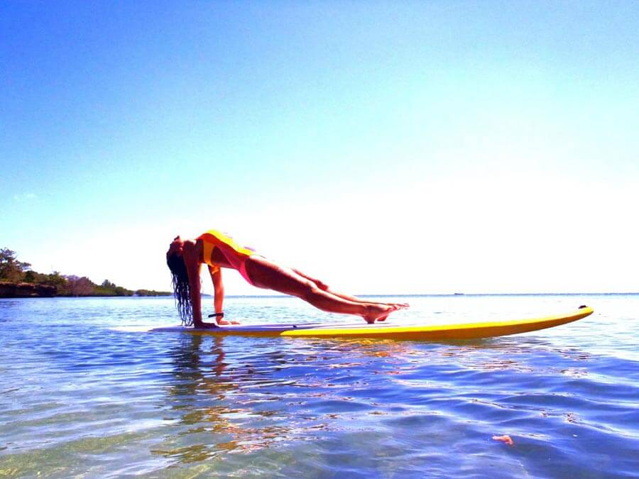 Maui Vacation Yoga Sup Board Lesson Maui Sup School